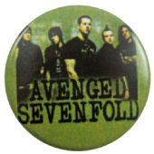 Avenged Sevenfold - 'Group Green' Button Badge